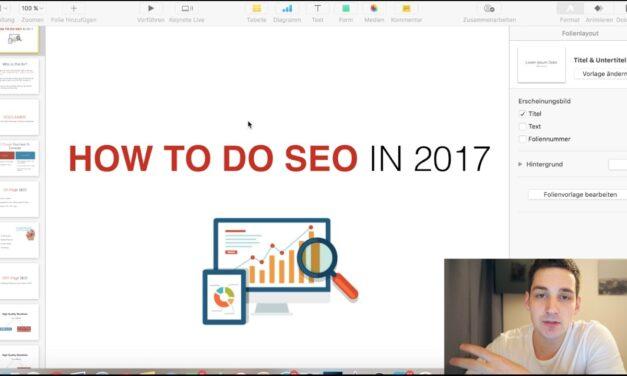 How To Do SEO For Website – SEO Tutorial 2017