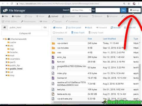 How to Edit .HTACCESS and View Hidden Files in CPanel File Manager