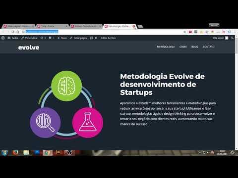 Curso de WordPress – Criando um site utilizando o Page Builder + Widgets